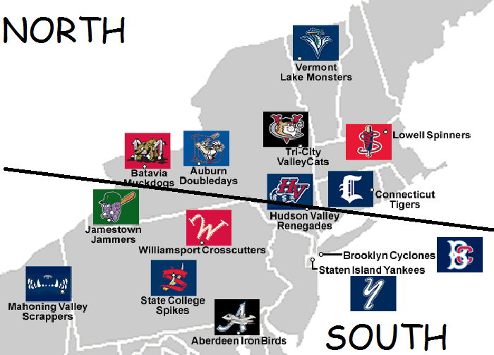 so there is our map for the all star game some of us are suicidal upset over the thought that the cyclones and yanks will be on the same team