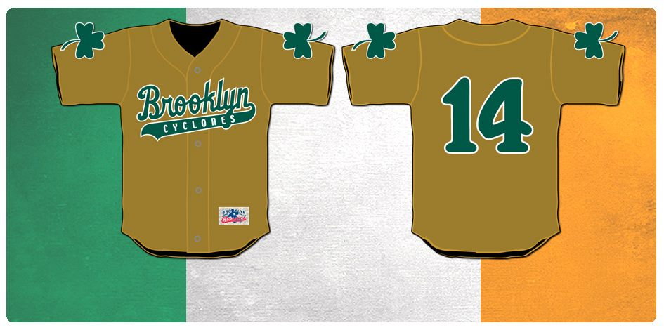 2014 Irish Heritage Night Giveaway Jerseys