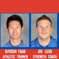 Tada to return as Trainer; Joe Lego named Strength Coach