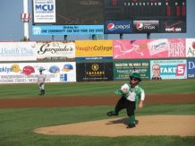 The 1st Pitch from Scotty in 2009