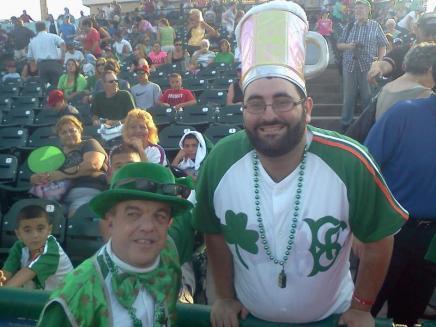Scotty with Brooklyn Baseball Banter Founder Daniel Weiss