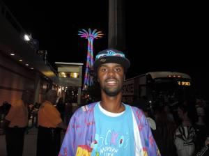 Sam Williams Outside MCU Park