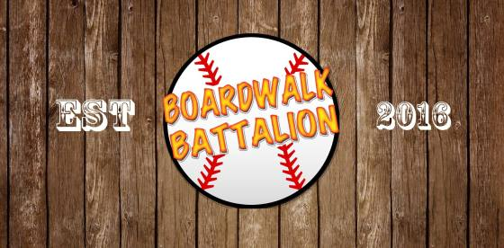 Battalion Logo on Wood WIDE with Year