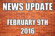 News Update 2/9/16