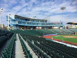 Shot of MCU Park from RF Stands