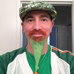 Rob Weiner with his famous colored beard