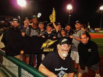 Bolts Fans Host a Tribute Parade on the Field (c) Pat Sanchez