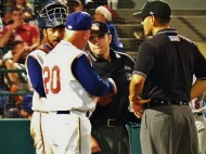 Gamboa Ejected in Final Game as Manager; Cyclones Lose 5-2