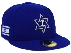 Israel fitted Cap