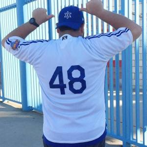 What better number to wear for Israel?