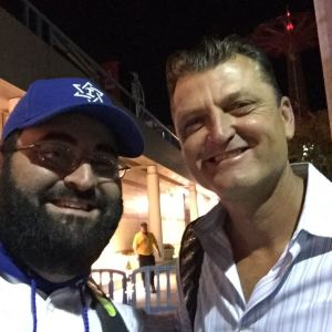 With future HOFer Trevor Hoffman
