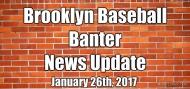 NEWS & UPDATES:1/26/17